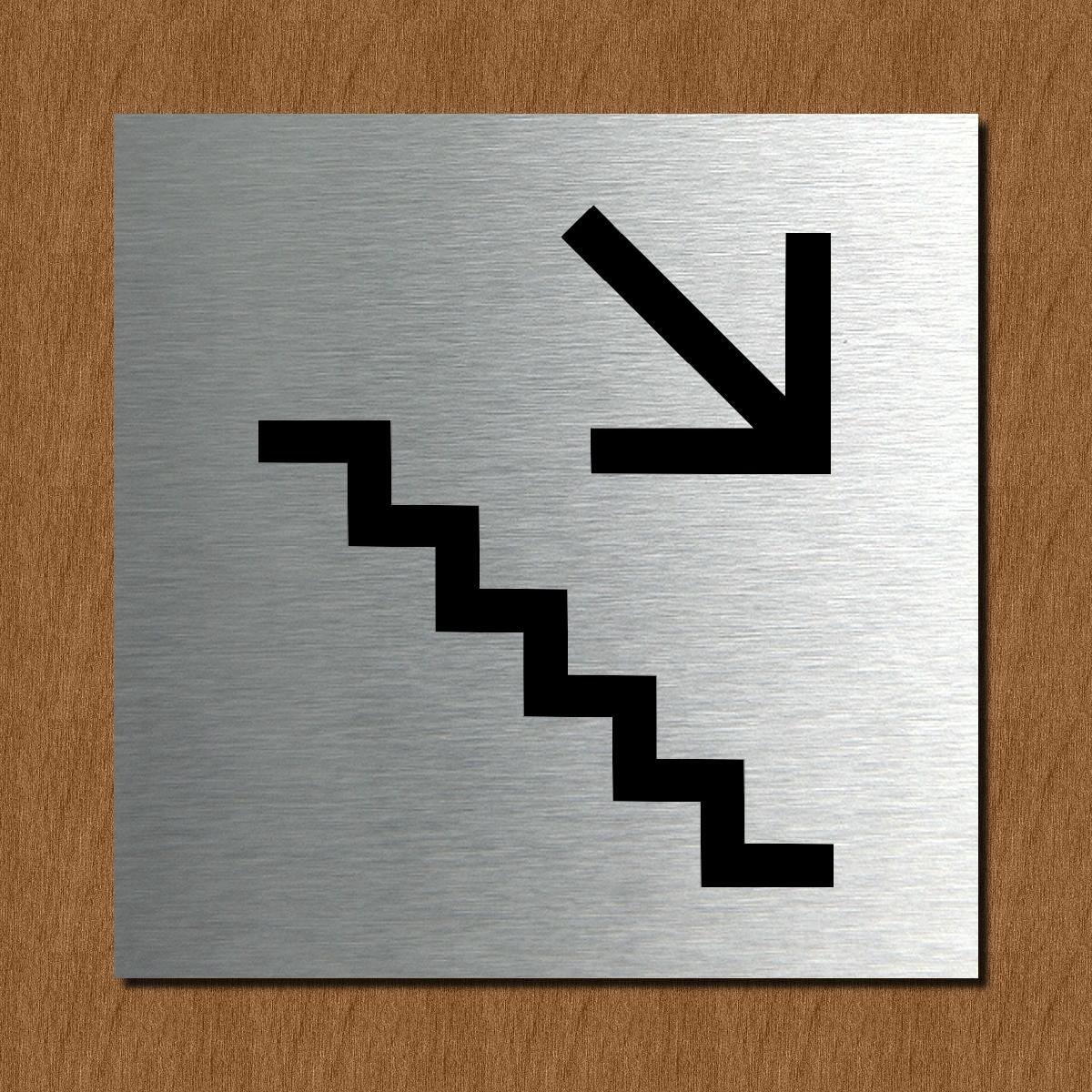 schild t rschild edelstahl design piktogramm wc damen herren rauchverbot info ebay. Black Bedroom Furniture Sets. Home Design Ideas